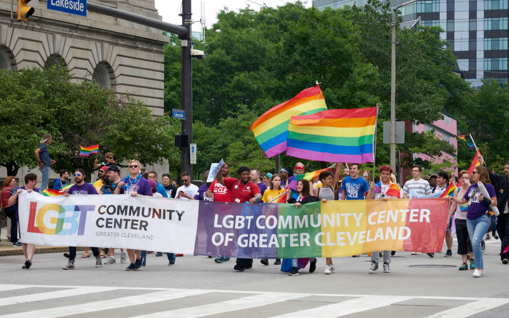 Cleveland Pride in the CLE