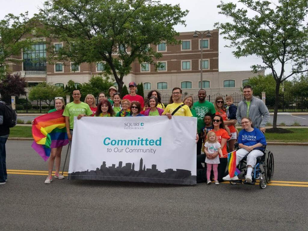 Squire Patton Boggs at Pride in the CLE 2018