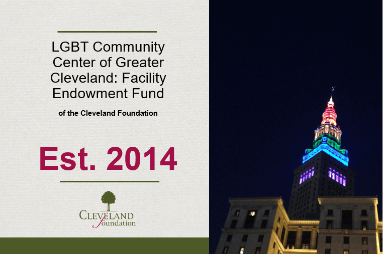 The Center Secures Future with Cleveland Foundation Organizational Fund